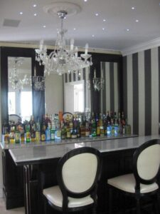A Custom designed Bar by Personal Touch Cabinets